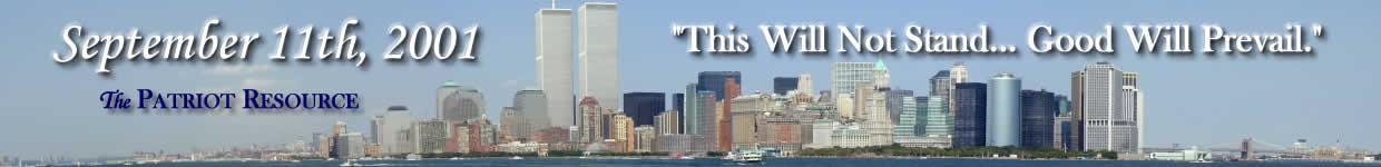 The Patriot Resource - 9-11-2001